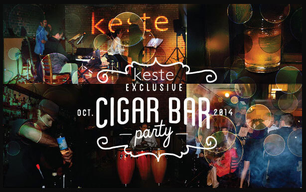 Cigar Bar party keste Dreamforce