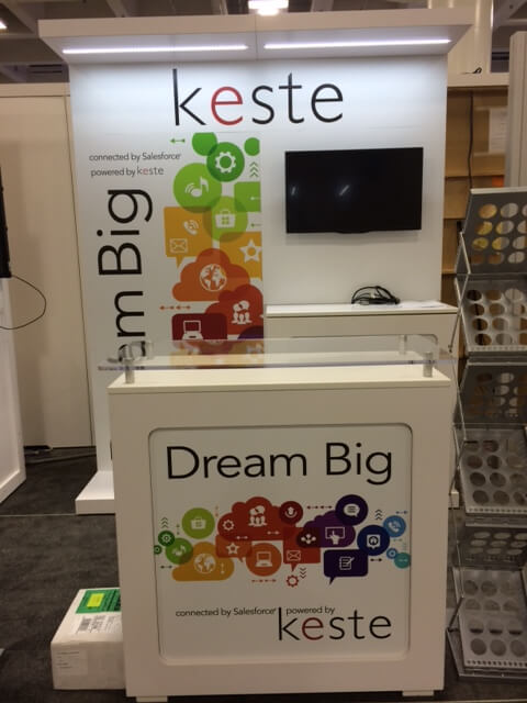 Dreamforce 2014 Keste booth