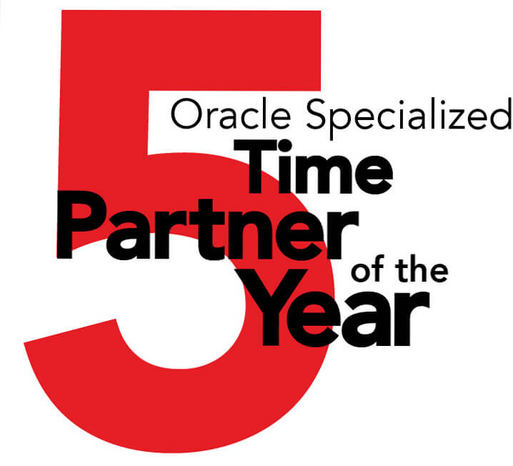 Keste is a 5 time winner of Oracle's Specialized Partner of the Year award