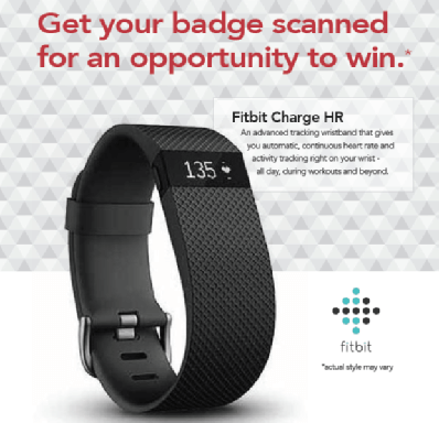 Keste is giving away a FitBit at Dreamforce 2015