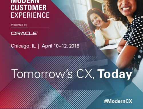Oracle Modern Customer Experience 2018