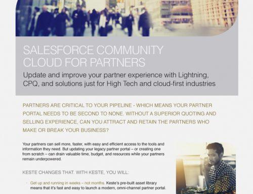 Salesforce Community Cloud for Partners