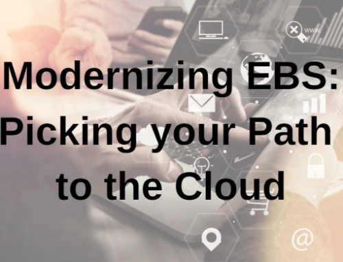 Modernizing EBS: Picking your Path to the Cloud