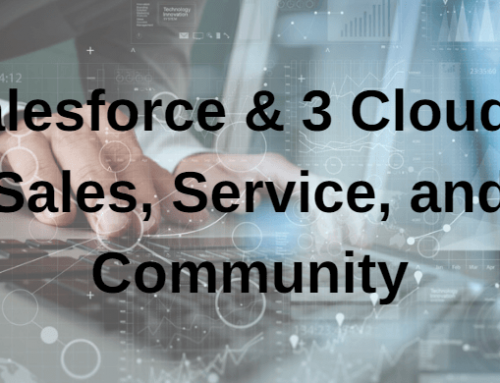 Salesforce and 3 Clouds: Sales, Service, and Community