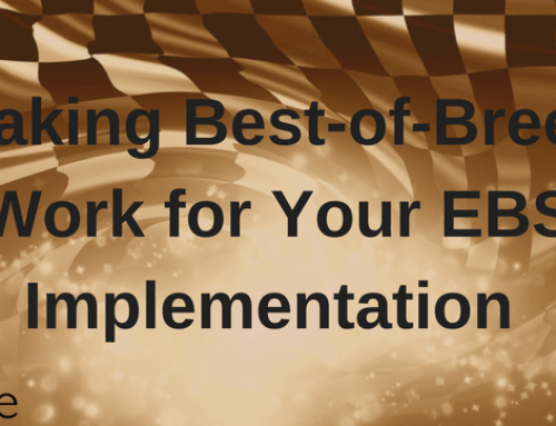 Making Best-of-Breed Work for Your EBS Implementation