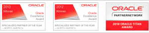 Oracle Specialized Partner of the Year Middleware