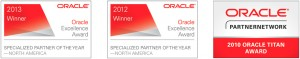 oracle specialized partner of the year 2013