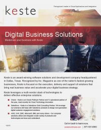 Digital Business Solutions – Modernize your business with Keste