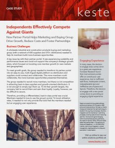 Partner Portal Drives Growth, Reduces Costs and Fosters Partnerships