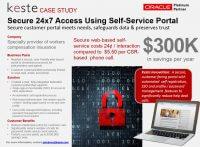 Secure 24×7 Access Provided via Self Service Portal