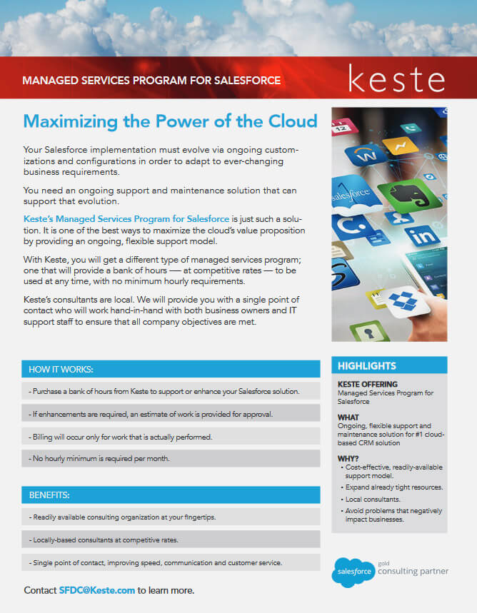 Maximize the Power of the Cloud!