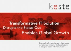 Transformative IT Solution Disrupts the Status Quo and Enables Global Growth