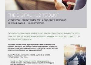 The Digital Hub Toolkit