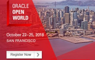 Oracle Open World 2018