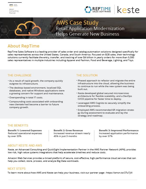 AWS Case Study: Retail Application Modernization Helps Generate New